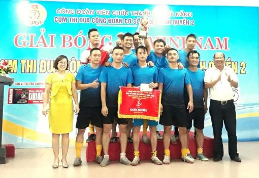 Giải bóng đá chào mừng Đại hội XII Công đoàn Việt Nam