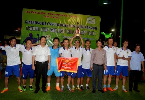  Liên Chiểu: Bế mạc Giải bóng đá tranh Cúp Golden Hills
