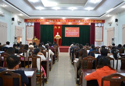 Liên đoàn Lao động quận Thanh Khê tổ chức Hội nghị triển khai nhiệm vụ năm 2017