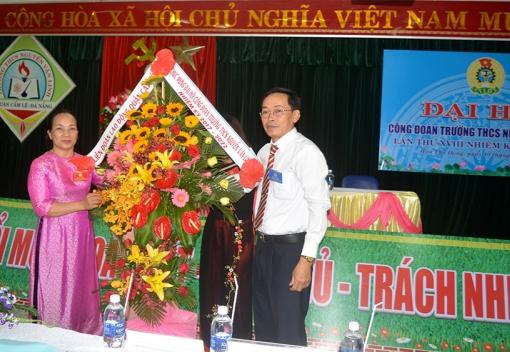 Công đoàn Trường THCS Nguyễn Văn Linh: Đại hội lần thứ XVIII