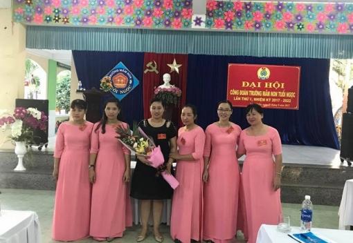 Công đoàn Trường Mầm non Tuổi Ngọc Đại hội lần thứ V