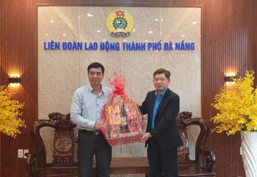 LĐLĐ tỉnh Thừa Thiên Huế thăm, chúc Tết LĐLĐ TP Đà Nẵng.