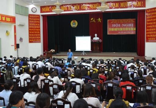 Liên Chiểu: Tập huấn nghiệp vụ hoạt động Công đoàn