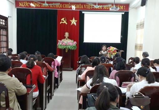 Hoà Vang: Tập huấn nghiệp vụ cho UBKT Công đoàn cơ sở
