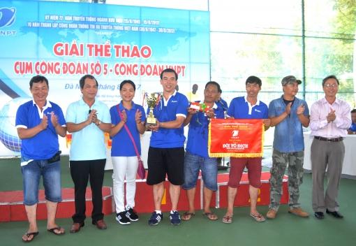  Giải thể thao Cụm Công đoàn số 5 – Công đoàn VNPT