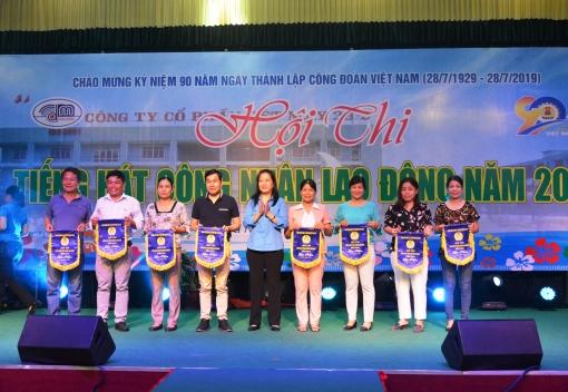Công đoàn Công ty CP Dệt may 29.3 tổ chức Hội thi tiếng hát CNLĐ