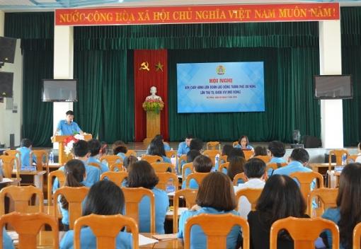 Hội nghị BCH Liên đoàn Lao động thành phố lần thứ Tư, khóa XVI