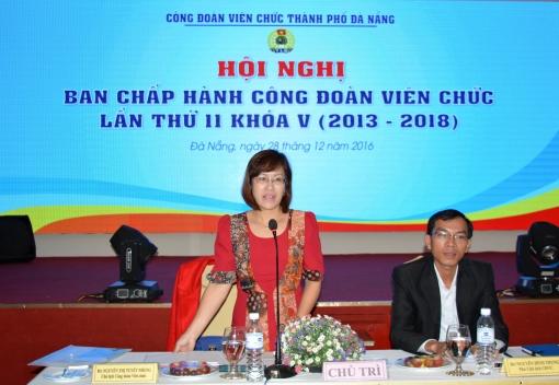 Hội nghị Ban Chấp hành Công đoàn Viên chức thành phố Đà Nẵng lần thứ 11, Khóa V (Nhiệm kỳ 2013-2018)