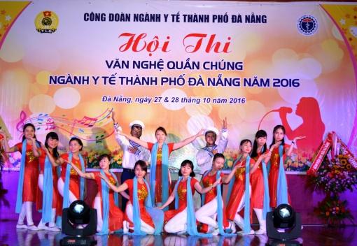 Hội thi văn nghệ quần chúng ngành Y tế TP Đà Nẵng năm 2016