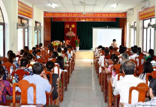Liên đoàn Lao động quận Hải Châu: Tập huấn nghiệp vụ Tài chính Công đoàn năm 2016