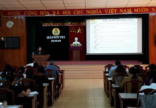 Sơn Trà: tập huấn công tác tổ chức Đại hội