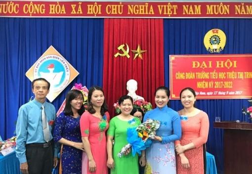Trường Tiểu học Triệu Thị Trinh: Đại hội Công đoàn lần thứ VIII