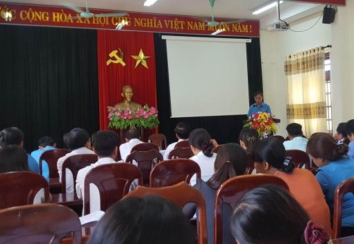 Hoà Vang: tổ chức hội nghị sơ kết công tác quý I