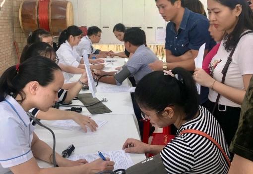 Ngành Giáo dục: Gần 400 đoàn viên Công đoàn tham gia hiến máu tình nguyện