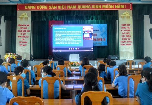 Hội nghị trực tuyến chuyên đề về giai cấp công nhân và tổ chức Công đoàn
