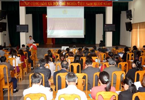 Liên đoàn Lao động TP Đà Nẵng tập huấn công tác tổ chức Đại hội Công đoàn các cấp