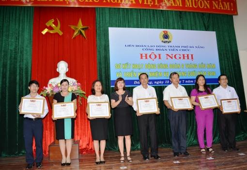 Công đoàn Viên chức TP Đà Nẵng: Sơ kết hoạt động Công đoàn 6 tháng đầu năm 2016