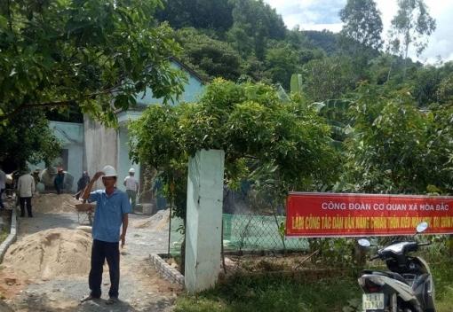Hoà Vang: Công đoàn cơ quan xã Hòa Bắc làm công tác dân vận