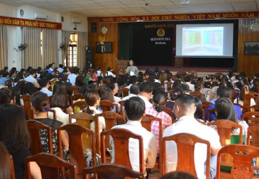 Sơn Trà: Tập huấn nghiệp vụ Công đoàn