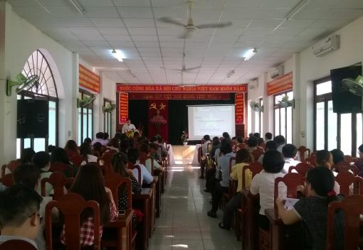 Hải Châu: tổ chức tập huấn công tác Đại hội Công đoàn