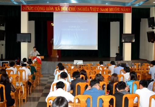       Liên đoàn Lao động TP Đà Nẵng: tập huấn công tác tài chính năm 2017