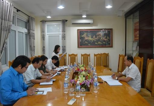 Hội nghị lần thứ 2 Ủy ban Kiểm tra LĐLĐ thành phố.