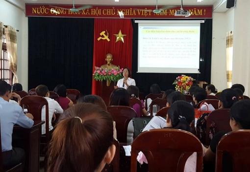 Hoà Vang: Bồi dưỡng nghiệp vụ công tác Công đoàn