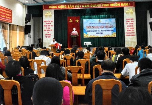 Hải Châu: Tập huấn những điểm mới của Bộ luật Lao động 2019