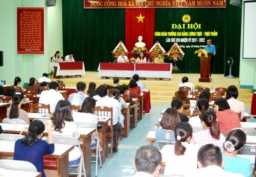 Công đoàn Trường Cao đẳng Lương thực - Thực phẩm Đại hội lần thứ XVII