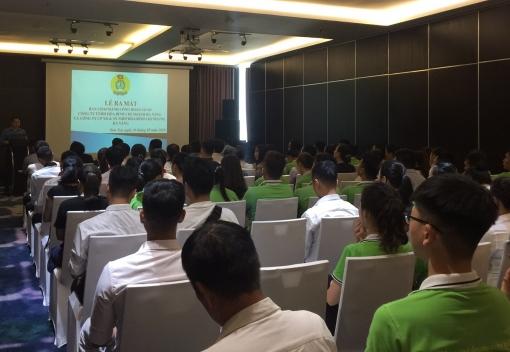 Sơn Trà: ra mắt CĐCS Công ty TNHH Hòa Bình – CN Đà Nẵng