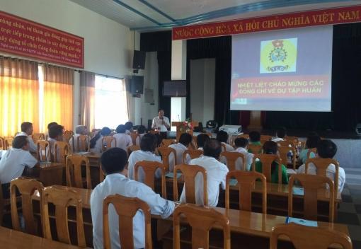 Hội nghị tập huấn công tác Công đoàn