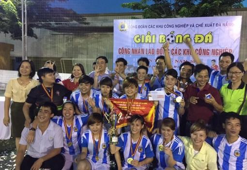 Bế mạc Giải bóng đá Mini truyền thống CNLĐ các khu công nghiệp lần thứ X năm 2016