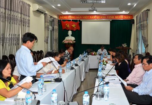 Hội nghị đánh giá quy chế phối hợp giữa Công đoàn các Khu công nghiệp & chế xuất - LĐLĐ các quận, huyện - Nhà Văn hoá Lao động thành phố.