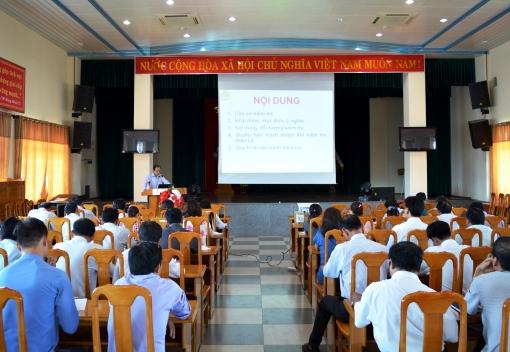 Ủy ban kiểm tra Liên đoàn Lao động TP Đà Nẵng: Tập huấn công tác Thanh tra nhân dân & chấp hành Điều lệ Công đoàn Việt Nam