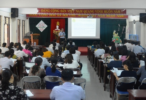 Ngành Giáo dục: Tập huấn nghiệp vụ cho cán bộ Công đoàn cơ sở