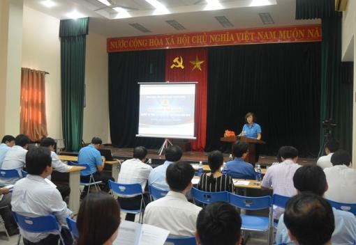 Tập huấn nghiệp vụ công tác kiểm tra Công đoàn