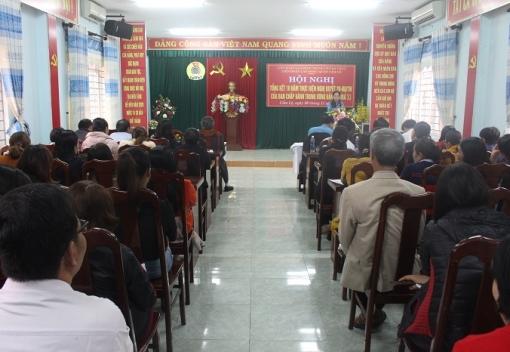 Cẩm Lệ: Hội nghị tổng kết 10 năm thực hiện Nghị quyết số 20-NQ/TW