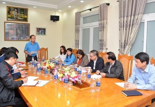 Hội nghị lần thứ nhất Ủy ban kiểm tra Liên đoàn Lao động thành phố, nhiệm kỳ 2018-2023