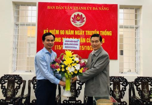 Thăm và chúc mừng các cơ quan Đảng, Hội nhân ngày truyền thống