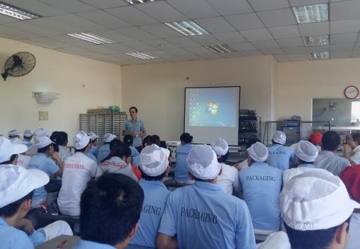 Tuyên truyền phòng, chống HIV/AIDS tại Công ty TNHH CN thực phẩm Lywayway Đà Nẵng
