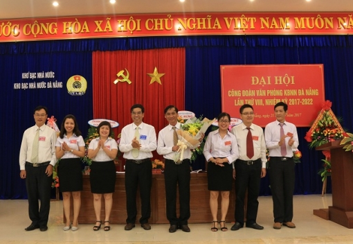 Kho bạc Nhà nước Đà Nẵng: Đại hội Công đoàn lần thứ VIII