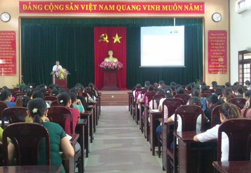 LĐLĐ huyện Hòa Vang tổ chức tập huấn nghiệp vụ cho cán bộ Tổ Công đoàn