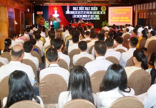 Đại hội đại biểu Công đoàn Công ty CP KDL Bắc Mỹ An lần thứ VII