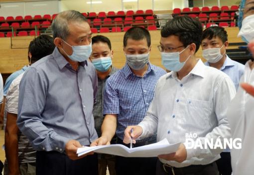 Đà Nẵng gấp rút hoàn thiện bệnh viện dã chiến