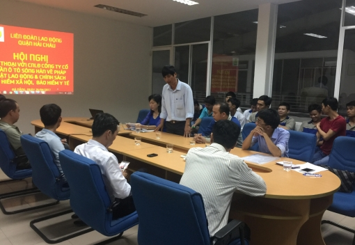 Hải Châu: tổ chức đối thoại, tư vấn pháp luật