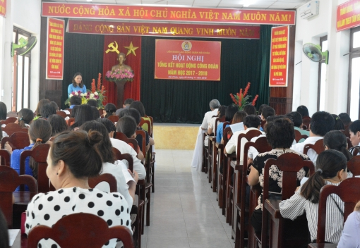 Hải Châu: Tổng kết hoạt động Công đoàn khối trường học