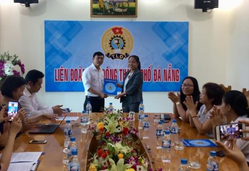 Thanh Khê: Tiếp nhận Công đoàn cơ sở mới