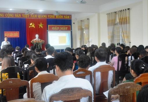 Liên Chiểu: Hội nghị tập huấn lực lượng cốt cán năm 2018