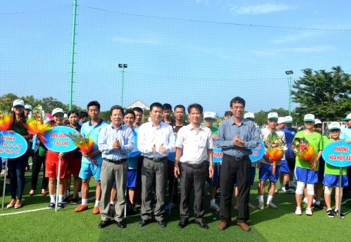 Liên Chiểu:  Khai mạc Giải bóng đá tranh Cúp Golden Hills lần thứ I