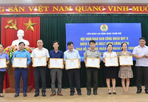 Thanh Khê: Giao ban công tác Công đoàn quý II/2020